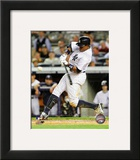 Curtis Granderson 2012 Action Framed Photographic Print