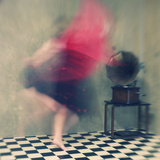 Hop Skip and Jump Fotoprint van Mel Brackstone