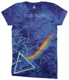 Juniors: Pink Floyd-Prisms T-shirts
