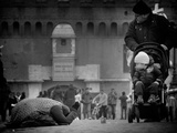 Charity and Curiosity... Photographic Print by Antonio Grambone