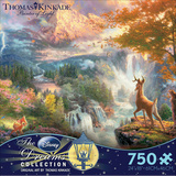 Thomas Kinkaid Disney Dreams - Bambi 750 Piece Jigsaw Puzzle Jigsaw Puzzle