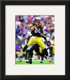 Hines Ward 2011 Action Framed Photographic Print