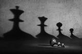 Game Over Fotografisk tryk af Victoria Ivanova