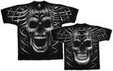 Fantasy-Psycho Skull T-skjorte