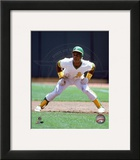 Oakland Athletics - Rickey Henderson Photo Framed Photographic Print