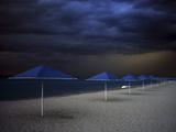 Umbrella Blues Photographic Print by Aydin Aksoy