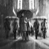 Rain of Sadness Fotodruck von Antonyus Bunjamin