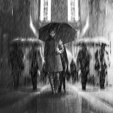 Rain of Sadness Photographic Print by Antonyus Bunjamin