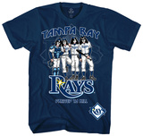 MLB/Kiss-Kiss/Rays Dressed T-Shirt