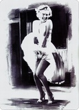 Marilyn Dress Tin Sign