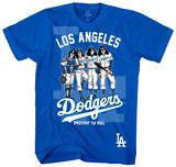 MLB/Kiss-Kiss/Dodgers Dressed Skjorte