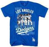 MLB/Kiss-Kiss/Dodgers Dressed Shirts