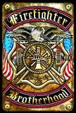 Fire Brotherhood Tin Sign