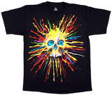 Fantasy-Neon Skull T-Shirt
