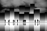 The Great City Photographic Print by Natalia Baras