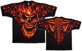 Fantasy-Raging Inferno T-skjorte