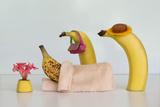 Sick Banana Photographic Print by Jacqueline Hammer