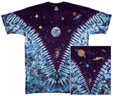 Nature-Space Top Tie Dye T-Shirt