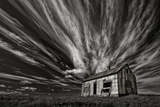 Cabin (Mono) Photographic Print by Thorsteinn H.