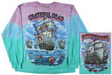 Grateful Dead-Ship Of Fools Long Sleeve T-shirt a maniche lunghe