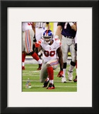 Jason Pierre-Paul Super Bowl XLVI Action Framed Photographic Print