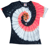 Ladies: MLB-Sf Giants Spiral V-Neck T-Shirt