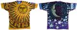 Nature-Sun Moon Tie Dye T-skjorter
