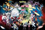 Pokemon Mega Kunstdrucke