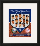 New York Yankees 2012 Team Composite Framed Photographic Print
