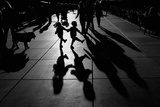 Danza Stampa fotografica di Vedrana Domazet