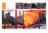 The Gates IX Kunst von  Christo