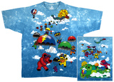 Grateful Dead-Parachuting Bears T-Shirt