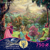 Thomas Kinkaid Disney Dreams - Sleeping Beauty 750 Piece Jigsaw Puzzle Jigsaw Puzzle