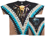 Nature-Bison Skull T-Shirts
