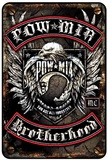 POW - MIA Tin Sign