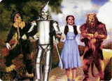 Wizard of Oz Illustration Tin Sign