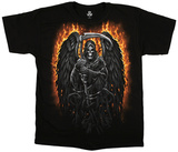 Fantasy-Fire Reaper T-shirts