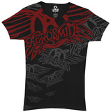 Juniors: Aerosmith-Walk This Way T-Shirt