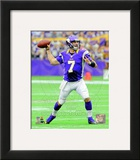 Christian Ponder 2012 Action Framed Photographic Print