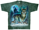 Nature-Wolf Moon T-Shirt