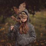 Autumn Masquerade Photographic Print by  Monique