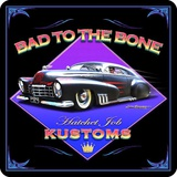 Bad to the Bone Tin Sign