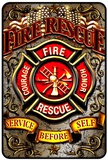 Fire Reserve Ember Tin Sign