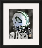 New York Jets Helmet Spotlight Framed Photographic Print