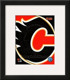 Calgary Flames 2011 Team Logo Framed Photographic Print
