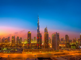 Dubai Skyline Photographic Print by  Kjersti