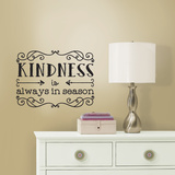 Kindness Quote Peel & Stick Wall Decals Decalques de parede
