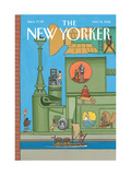 The New Yorker Cover - May 18, 2015 Regular Giclee Print by Bruce McCall