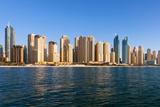 Dubai, Jumeirah Beach Residence Photographic Print by  fuchsphotography