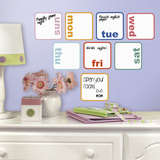 Days of the Week Planner Dry Erase Peel and Stick Wall Decals Wall Decal
